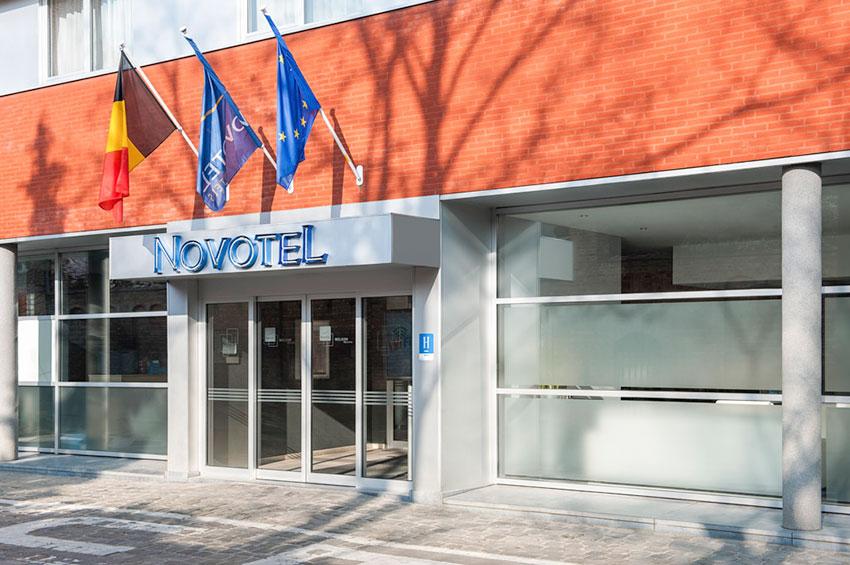 Gebouw Hotel Novotel Ieper