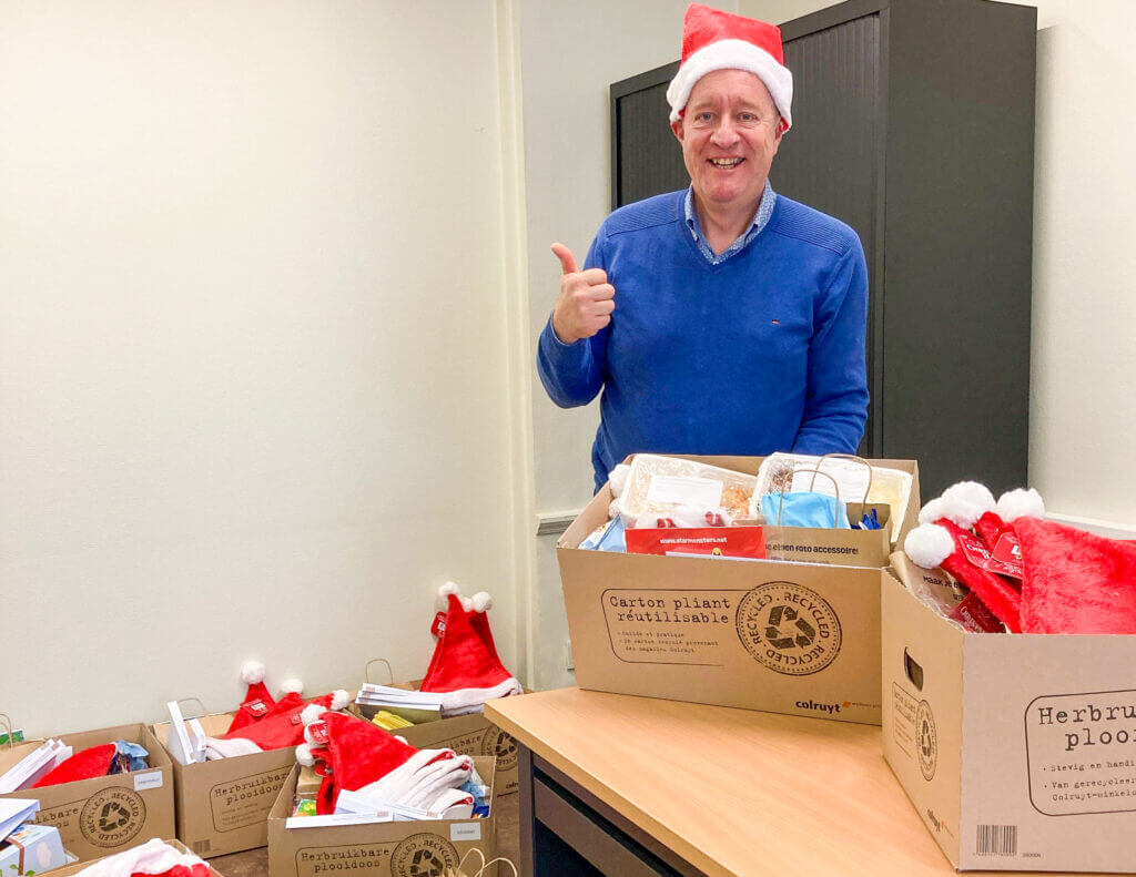 vzw CJGB Kortrijk kerstpakketten